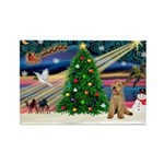 XmasMagic/Lakeland Ter Rectangle Magnet