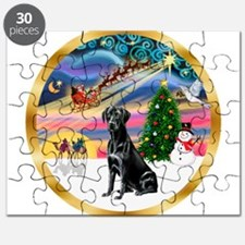 XmasMagic/Lab (black) Puzzle