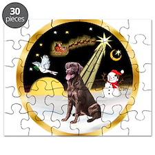 Night Flight/Lab (choc) #10 Puzzle