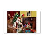 Santa's Norwegian Elk Car Magnet 20 x 12