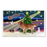 XmasMagic/Nova Scotia Sticker (Rectangle 50 pk)