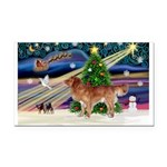 XmasMagic/Nova Scotia Rectangle Car Magnet