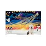 XmasSunrise/OES #3 Rectangle Magnet (10 pack)
