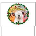 XmasMusic 3/OES #3 Yard Sign