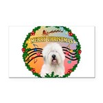 XmasMusic 3/OES #3 Rectangle Car Magnet