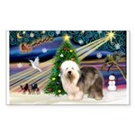 Xmas Magic & OES #5 Sticker (Rectangle 50 pk)