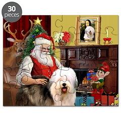 Santa's Old English #5 Puzzle