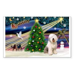 XmasMagic/ Old English Sheepd Decal