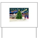 XmasMagic/Papillon Yard Sign
