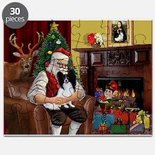 Santa's Papillon Puzzle