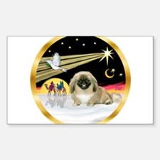Wisemen/Pekingese Decal