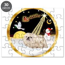 Night Flight/Pekingese Puzzle