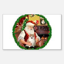 Santa's Pomeranian #1 Decal