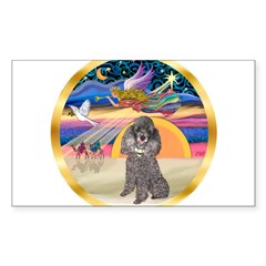 XmasStar/Silver Poodle #8 Decal