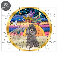 XmasStar/Silver Poodle #8 Puzzle