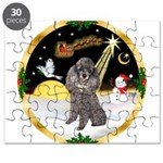 Night Flight/Silver Poodle Puzzle