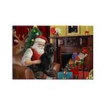 Santa's PWD Rectangle Magnet