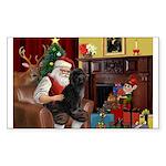 Santa's PWD Sticker (Rectangle 50 pk)