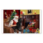 Santa's PWD Sticker (Rectangle)
