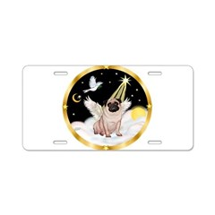 Night Flight/ Pug Aluminum License Plate