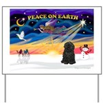 XmasSunrise/Puli #1 Yard Sign