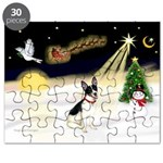 Night Flight/Rat Terrier Puzzle