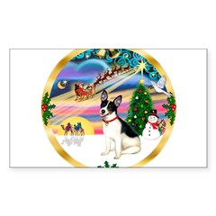 XmasMagic/Rat Terrier Decal
