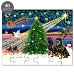 XmasMagic/2 Rotties Puzzle