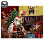 Santa's Rottweiler Puzzle