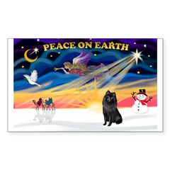 XmasSunrise/Schipperke Decal