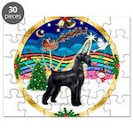 XmasMusic 3/Schnauzer Giant Puzzle