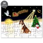Night Flight/Sheltie Puzzle