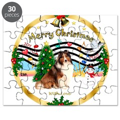 XmasMusic3/Sheltie 7 Puzzle