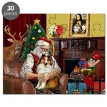 Santa's Sheltie (SW) Puzzle