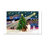 XmasMagic/Sheltie (7R) Car Magnet 20 x 12