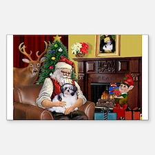 Santa's Shih Tzu (#1) Decal