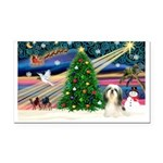 XmasMagic/Shih TzuT Rectangle Car Magnet