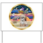 XmasStar/Shih Tzu Yard Sign
