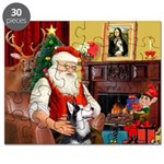 Santa's Sib Husky Puzzle
