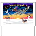 XmasSunrise/ Silky T Yard Sign