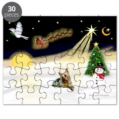 Night Flight/ Silky Ter 14 Puzzle