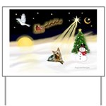 Night Flight/ Silky Ter 14 Yard Sign