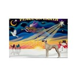 XmasSunrise/Sloughi Rectangle Magnet (10 pack)
