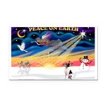 XmasSunrise/Toy Fox T Rectangle Car Magnet