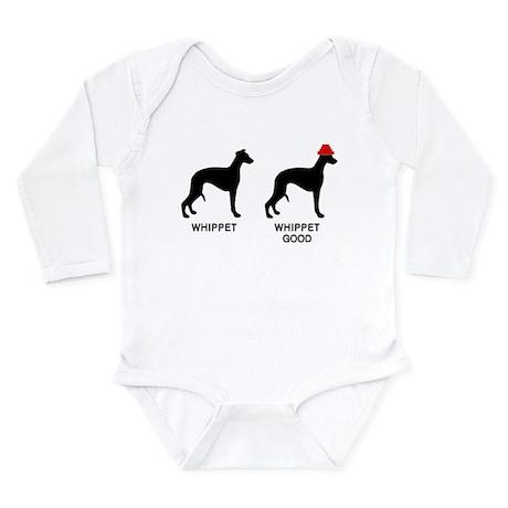 WHIPPET, WHIPPET GOOD! Long Sleeve Infant Bodysuit