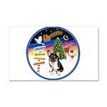 XmasSigns/Corgi Pup (Z) Car Magnet 20 x 12