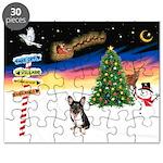 XmasSigns/Corgi Pup (Z) Puzzle