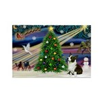 XmasMagic/Corgi (5C) Rectangle Magnet (10 pack)