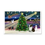 XmasMagic/Corgi (5C) Rectangle Car Magnet