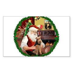 Santa's Welsh T Decal